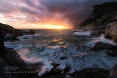The sea screams by DeltaJimmy #landscape #travel