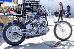 Win this '64 Panhead tomorrow at @giddy_up_tx !! Built by @johncollinsk  #streetchopper #GiddyUpTX by streetchopper