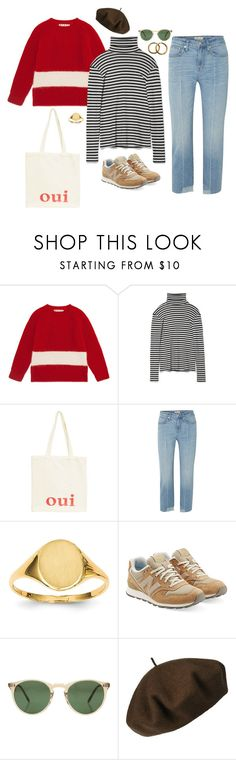 """Yeah yeah yeah"" by ash-with-the-wind on Polyvore featuring Marni, Oui, Madewell, Kevin Jewelers, New Balance, Oliver Peoples, Betmar and Chanel"