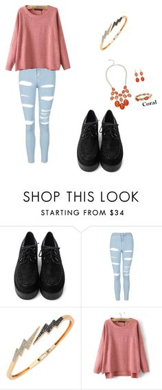 """""""C😖"""" by lady-shadylady ❤ liked on Polyvore featuring Topshop, Bee Goddess, Alexa Starr, men's fashion and menswear"""