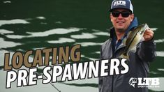 Want to learn how to locate Pre-Spawn Bass? In this Lucky Tackle Box video, Travis is going to show you how using rip baits like Reaction Strike's . Fishing Knots, Going Fishing, Trout Fishing, Saltwater Fishing, Kayak Fishing, Fishing Reels, Lucky Tackle Box, Bass Fishing Videos, Fishing For Beginners