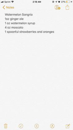 Olive Garden Watermelon Sangria – Food is fun Watermelon Syrup, Watermelon Sangria, Summer Sangria, Summer Drinks, Cocktail Drinks, Cocktails, Alcoholic Punch Recipes, Sangria Recipes, Drinks Alcohol Recipes