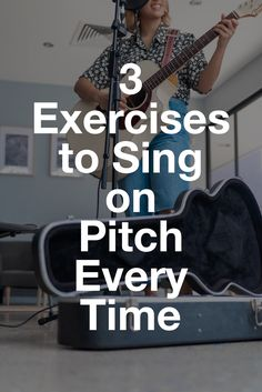 One of the most common problems beginning singers face is learning to sing on pitch. Here's what's causing you to sing flat and some tips on how to fix it. Vocal Lessons, Singing Lessons, Music Lessons, Guitar Lessons, Songwriting Techniques, Singing Techniques, How To Practice Singing, How To Sing, Voice Warm Ups