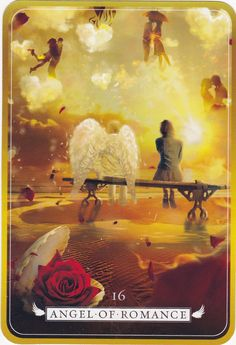Guardian Angel Oracle ~Angel of Romance Empath Abilities, Archangel Gabriel, Archangel Raphael, Angel Readings, Divination Cards, Angel Guidance, Angels Among Us, Angel Cards, Oracle Cards