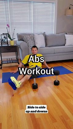 Gym Workout For Beginners, Gym Workout Tips, Fitness Workout For Women, At Home Workout Plan, Dumbbell Workout, Easy Workouts, Workout Videos, Fitness Goals, At Home Workouts