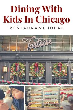 Restaurants to try with kids when visiting Chicago - Includes donuts, fine dining, and traditional Chicago fare like deep dish pizza Visit Chicago, Chicago Travel, Travel Usa, Chicago Restaurants Best, Kids Restaurants, Travel With Kids, Family Travel, Usa Places To Visit, Restaurant Guide