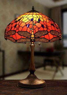 Lámpara de mesa Dragon Fly Ø 41cm