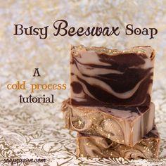 Soap QueenBusy Beeswax Soap Tutorial | Soap Queen