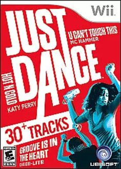 """Just Dance for Nintendo Wii - UbiSoft - Toys """"R"""" Us - samie Wii Dance, Dance Games, Music Games, Wii Games, Games To Play, Dance Party Kids, Just Dance 2, Sega Dreamcast, Games Stop"""