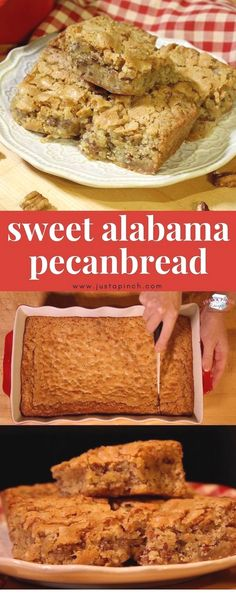 Sweet Alabama Pecanbread is a quick and easy recipe that's great for breakfast or dessert! Sweet Alabama Pecanbread is a quick and easy recipe that's great for breakfast or dessert! Bread Machine Recipes, Easy Bread Recipes, Baking Recipes, Cake Recipes, Quick Bread, Easy Homemade Bread, Fast Dessert Recipes, Pecan Recipes, Cheap Recipes