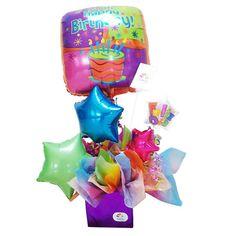 Resultado de imagen para globos de feliz cumpleaños de helio