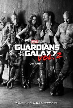 Baby Groot Steals The Show In The GUARDIANS OF THE GALAXY VOL 2 Teaser Poster