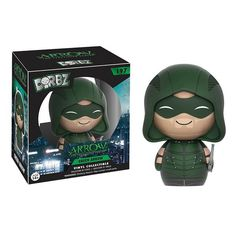 This is theFunko Arrow Dorbz Arrow Vinyl Figure produced by Funko. The Arrow television show has been a very popular success and this particular Dorbzfigure h