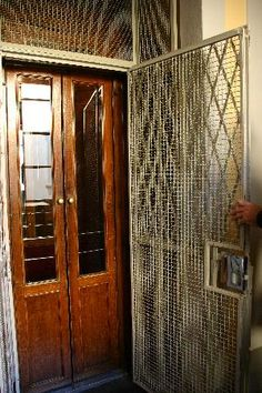 An Old Elevator Door Architecture Amp Design Pinterest