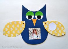This DIY owl is super adorable for Father's Day.