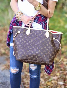 Louis Vuitton Neverfull from The Sweetest Thing: October 2014