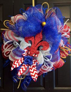 Memorial Day 4th of July n Labor Day wreath by WreathsbyLaura, $90.00