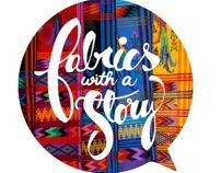 Logo para: Fabrics with a story.