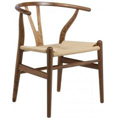 So many dining chairs to choose from but these are the favourite all time classic, the Wishbone chair(replica)by Hans J Wegner is so stylish, beautifully handcrafted in walnut and comfortable that they win hands down!