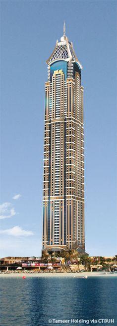 Elite Residence - Dubai, UAE (380.5m/1248ft) (Adnan Saffarini)