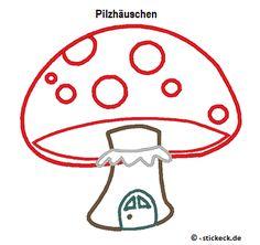 Freebie - 20170324 - Pilzhaeuschen - stickeck.de