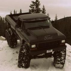 '78 Ford 4x4...slightly modified