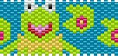kermit bead pattern