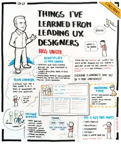 Things I've learned from leading UX Designers by Russ Unger