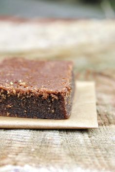 everything is poetry: moist chewy brownies & success
