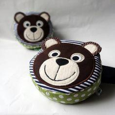 Ledvinka medvěd Coins, Coin Purse, Wallet, Purses, Do Crafts, Handbags, Coin Purses, Handmade Purses, Wallets