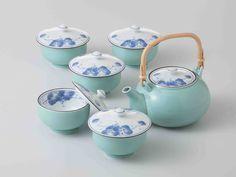Tokyo Matcha Selection - [SUPER SALE] Arita-yaki Porcelain : Grape - Kyusu Tea pot