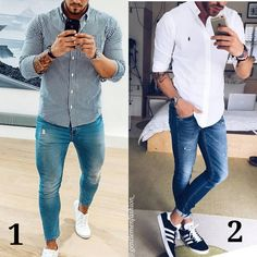 """3,730 Likes, 76 Comments - GENTLEMENFASHION (@gentlemenfashion_) on Instagram: """"Follow @gentlemenfashion_ for more style . Which one? 1 or 2? Amazing style by @renegaert And…"""""""