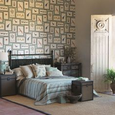 Buy Aqua/Multi, Sanderson Picture Gallery Wallpaper from our Wallpaper range at John Lewis & Partners. Botanical Bedroom, Latest Wallpapers, Modern Wallpaper, Botanical Wallpaper, Pattern Wallpaper, Fabric Wallpaper, Soft Furnishings, Fabric Design, Home Accessories