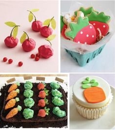 Fun for a garden party!  blog has other cute crafty ideas too...