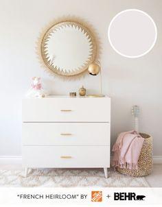 Trendy Ideas For Baby Bedroom Nursery Paint Colors Baby Bedroom, Nursery Room, Girl Nursery, Girls Bedroom, Nursery Paint Colors, Nursery Neutral, Neutral Nurseries, Neutral Bedrooms, Room Colors