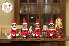 The Elf On The Shelf ~Hanging out with friends!
