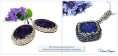 Picture tutorial on how to bezel a square and round stone, may need translation but pictures are clear and easy to follow