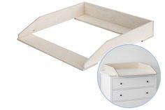 Wickelaufsatz für Ikea Kommode Hemnes/ 80cm von New Swedish Design auf DaWanda.com