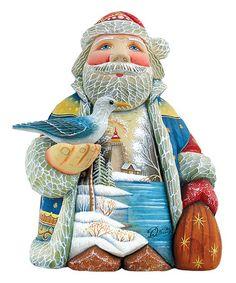 Look what I found on #zulily! Harbor Light Santa Figurine #zulilyfinds