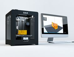 "Check out new work on my @Behance portfolio: ""Zaxe /// 3D Printer Product Render"" http://on.be.net/1NgC6v3"