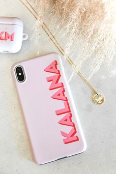 Clear Monogram iPhone & Air Pods Cases