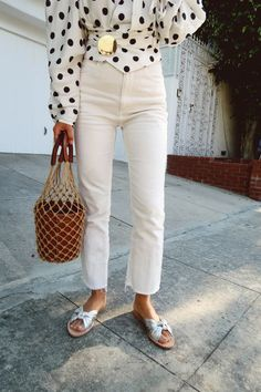 The Fashion Magpie Polka Dot Street Style 4