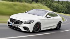 Gallery of Mercedes-AMG Coupe and Cabriolet Images Mercedes Benz Amg, Mercedes 2018, Mercedes S Class Coupe, New Luxury Cars, Mercedez Benz, Dual Clutch Transmission, Benz S Class, Sport Cars, White Things