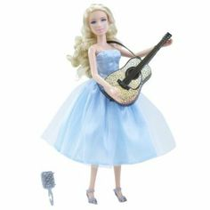 "Taylor Swift Performance Collection ""Our Song"" Singing Doll by Jakks. $199.95. Sings ""Our Song"". Comes with additional Accessory. Dressed in dress from her music video. Comes with Guitar. From the Manufacturer                Recreate a world of glamourous fashion and music with your own singing Taylor Swift doll.  Sing along to ""Our Song"" with this doll.                                    Product Description                Now you can experience Taylor's style and music up close ..."