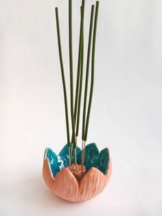 Items similar to Incense holders Stylized flower on Etsy - Items similar to Inc. - Items similar to Incense holders Stylized flower on Etsy – Items similar to Incense holders Styl - Ceramic Clay, Ceramic Pottery, Clay Mugs, Ceramic Sink, Stoneware Mugs, Ceramic Plates, Diy Clay, Clay Crafts, Cerámica Ideas