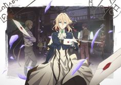 Violet Evergarden Key Visual | Anime