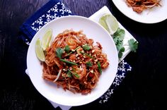 pad thai... she adapted the epicurious recipe, but her pictures look yummier    http://www.epicurious.com/recipes/food/views/Pad-Thai-380593