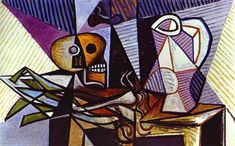Pablo Picasso. Still-Life. 1945 year