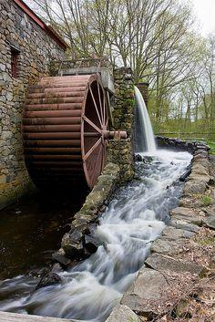 Grist Mill Wheel by Todd Wynia, via Flickr