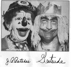 J.P. Patches and Gertrude.